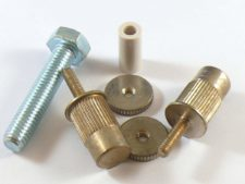 #3161 E-Sert™ Aged Nickel conversion bushings, For EPIPHONE, TOKAI, IBANEZ and other imports