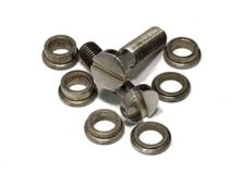 #3003 Tone-Lock™ (METRIC) Aged Nickel, for HERITAGE, EPIPHONE, and other IMPORTED GUITARS