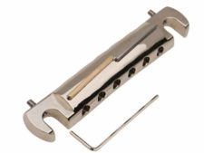 #3324 Tone-Bar™ Compensated Wrap Tailpiece/Bridge Gloss Nickel HYBRIDge™