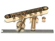 """#3035ESW Tone-Lock™ Bridge """"E-Z"""" Gloss Gold"""