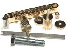 """#3035EST Tone-Lock™ Bridge """"Plus"""" Gloss Gold"""