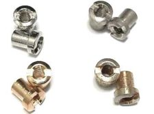 Tone-Lock™ Bridge Lock Nuts for 4mm bridge posts (imports and Faber® 4mm conversion posts)