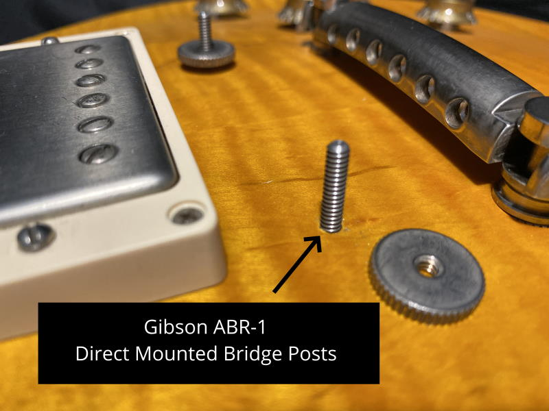 Gibson Nonwire ABR-1 Bridge Nickel with Nylon Saddles made in USA fits Gibson®