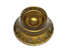 Vintage Style Top Hat Knob, Gold
